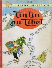 Tintin (Historique) -20B31- Tintin au Tibet