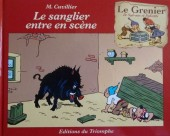 Sylvain et Sylvette (Le grenier de) -9- Le sanglier entre en scène