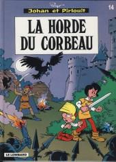 Johan et Pirlouit -14b- La horde du corbeau
