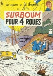 Gil Jourdan -6b80- Surboum pour 4 roues
