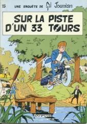 Gil Jourdan -15b81- Sur la piste d'un 33 tours