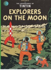 Tintin (The Adventures of) -17b04- Explorers on the Moon