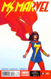Ms. Marvel (Marvel comics - 2014) -3- Side Entrance Part Three of Five