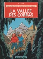 Jo, Zette et Jocko (Les Aventures de) -5d85- La Vallée des Cobras