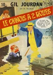 Gil Jourdan -10a73- Le Chinois à 2 roues