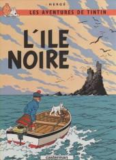 Tintin (Historique) -7C7- L'Ile Noire