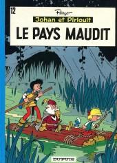 Johan et Pirlouit -12b1973- Le pays maudit