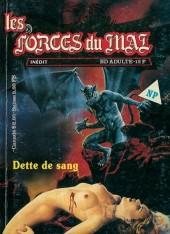 Les forces du Mal (Novel Press) -3- Dette de sang