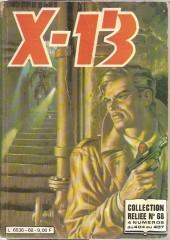 X-13 agent secret -Rec68- Collection reliée N°68 (du n°404 au n°407)