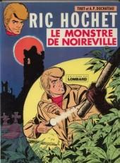 Ric Hochet -15a78- Le monstre de noireville
