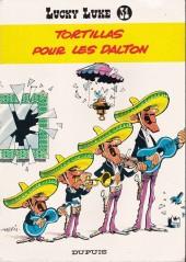 Lucky Luke -31a86- Tortillas pour les Dalton