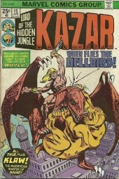 Ka-Zar (1974) -15- When shatters the gateway to hell!