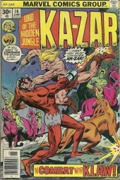 Ka-Zar (1974) -16- The conquest of Klaw!