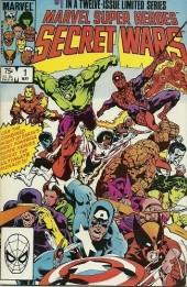 Marvel Super Heroes Secret Wars (Marvel comics - 1984) -1- The war begins