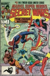 Marvel Super Heroes Secret Wars (1984) -3- Tempest without, crisis within!