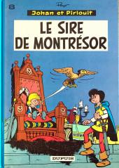 Johan et Pirlouit -8c84- Le sire de Montrésor