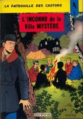 La patrouille des Castors -3b79- L'inconnu de la villa mystère