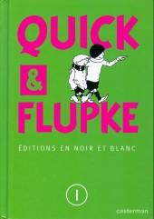 Quick et Flupke -2- (Casterman, N&B) -Cof1- Quick et flupke editions en noir et blanc)