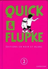 Quick et Flupke -2- (Casterman, N&B) -Cof2- Quick et flupke editions en noir et blanc