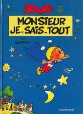Jojo (Geerts) -8- Monsieur Je-sais-tout