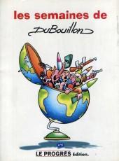 Les semaines de DuBouillon - Tome 9