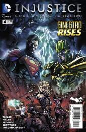 Injustice: Gods Among Us: Year Two (2014) -4- Sinestro rises