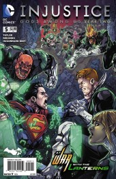 Injustice: Gods Among Us: Year Two (2014) -5- At war with the Lanterns