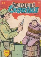 Sergent Gorille -13- Le cobaye