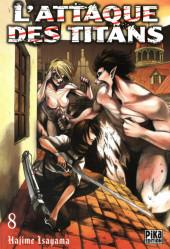L'attaque des Titans -8- Tome 8