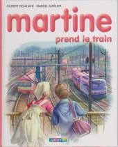 Martine -28c- Martine prend le train