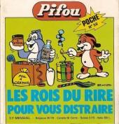Pifou (Poche) -58- Les Rois du Rire pour vous distraire