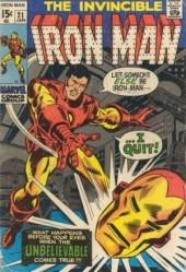 Iron Man Vol.1 (Marvel comics - 1968) -21- The replacement !