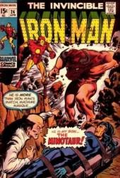 Iron Man Vol.1 (Marvel comics - 1968) -24- My son the Minotaur