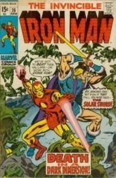 Iron Man Vol.1 (Marvel comics - 1968) -26- Death in the dark dimension !
