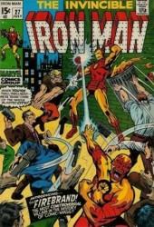 Iron Man Vol.1 (Marvel comics - 1968) -27- The fury of the firebrand !