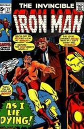 Iron Man Vol.1 (Marvel comics - 1968) -37- In this hour of Earthdoom !