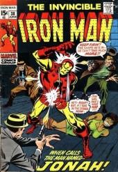 Iron Man Vol.1 (Marvel comics - 1968) -38- When calls Jonah !