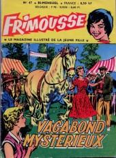Frimousse -47- Le Vagabond Mystérieux