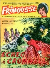 Frimousse -63- Echec à Cromwell