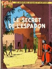 Blake et Mortimer (Les Aventures de) -2a1987- Le Secret de l'Espadon - Tome 2