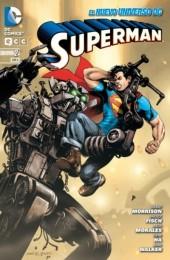 Superman (NUDC) -2- Superman Y Los Hombres De Acero