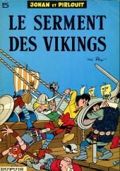 Johan et Pirlouit -5B67- Le serment des vikings