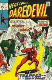 Daredevil Vol. 1 (Marvel - 1964) -61- Trapped... By the Trio of Doom!