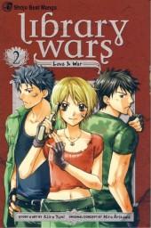 Library Wars: Love & War (2010) -2- Tome 2