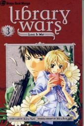 Library Wars: Love & War (2010) -3- Tome 3