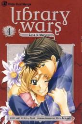 Library Wars: Love & War (2010) -4- Tome 4