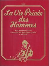 La vie privée des Hommes -INT3- Volume 3