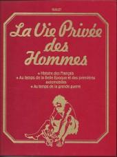 La vie privée des Hommes -INT8- Volume 8