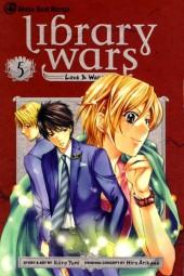 Library Wars: Love & War (2010) -5- Tome 5