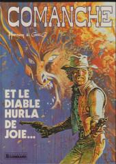 Comanche -9a1985- Et le diable hurla de joie...